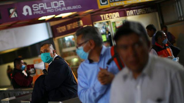 México: 1.305 muertes COVID-19 y 13 mil 842 casos confirmados
