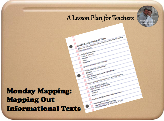 Students in upper levels are now required to read informational texts as part of state and national standards, yet many have never been taught the foundational standards for understanding those resources.  With the new semester just beginning, start with this mini-lesson on addressing these foundations. #teaching #informationaltexts #middleschool