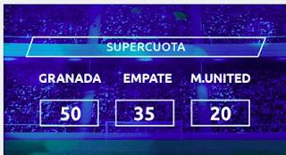 Mondobets supercuota Granada vs United 8-4-2021