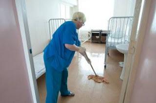 Санитарка | Уборщица