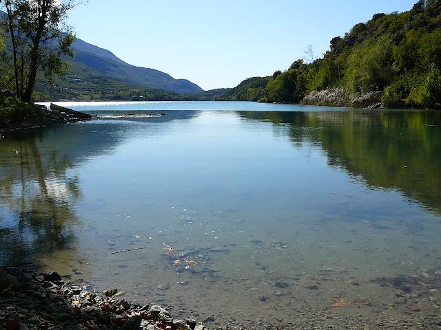 Percorso ciclabile Lago di Cavedine Trentino MTB