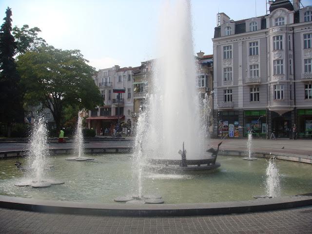 Plovdiv merkezdeki fiskiyeler