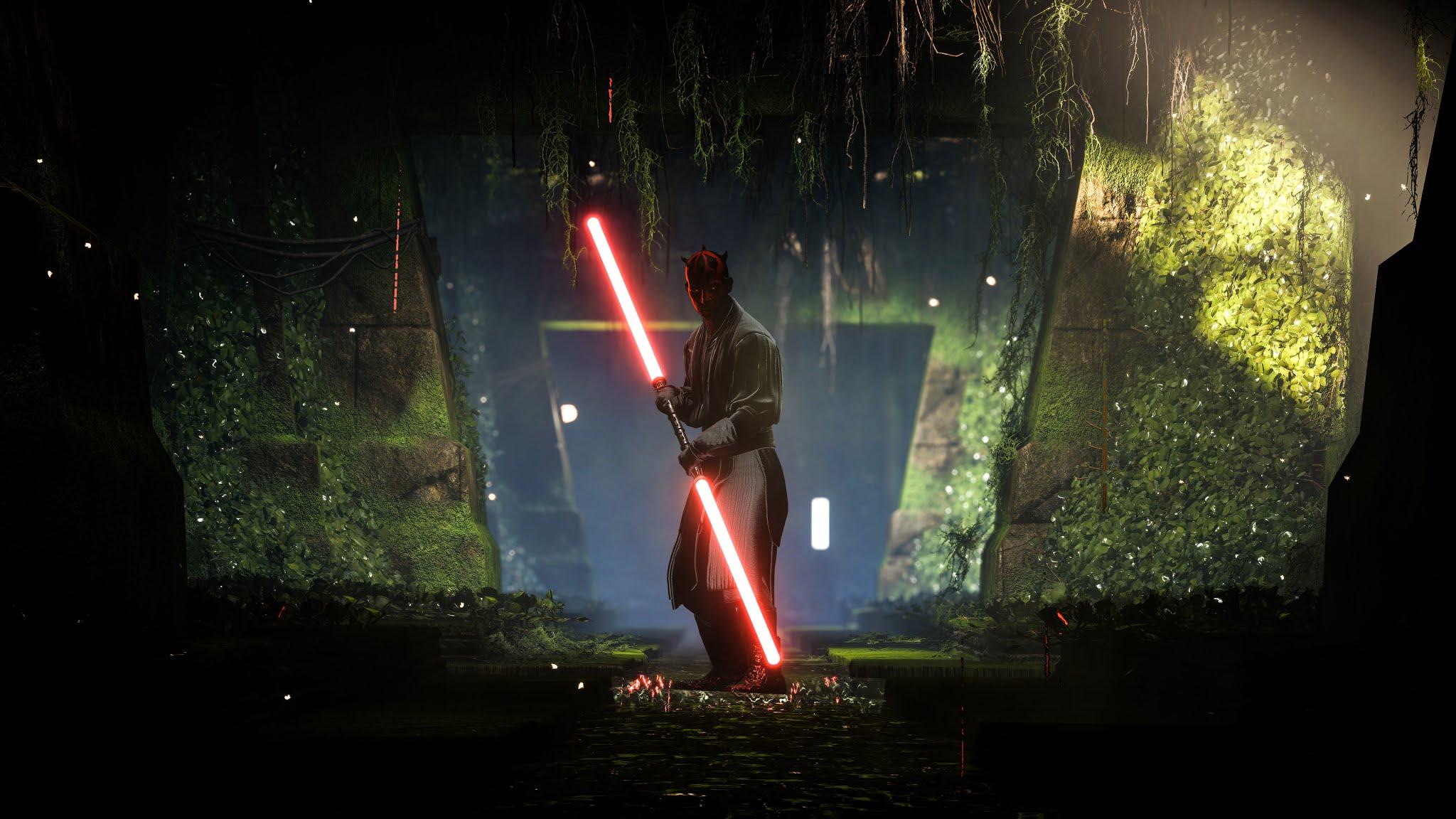 Darth Maul Star Wars Battlefront 2 4k Wallpaper