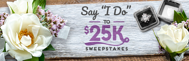 Travel Channel and HGTV want you to say I do in STYLE so they're giving brides and grooms to be the chance to enter to win $25,000 CASH for a DREAM WEDDING!
