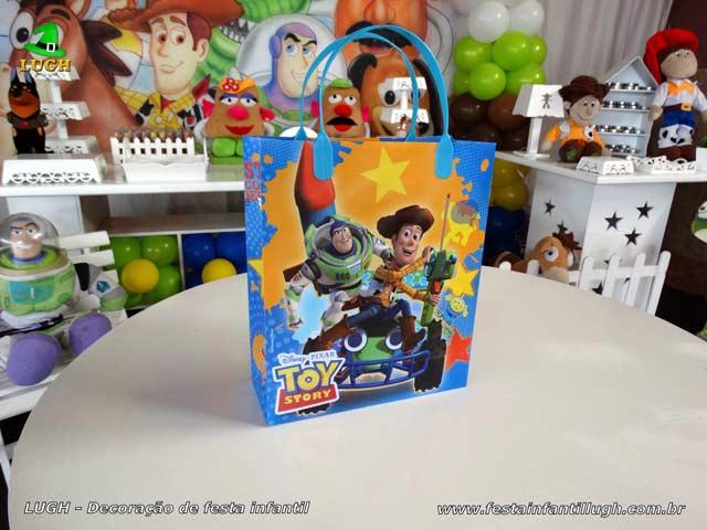 Sacolinhas personalizadas para aniversário tema Toy Story