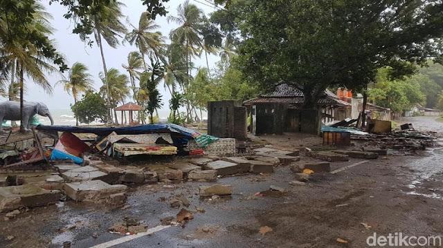 Tsunami Anyer-Lampung, Pemerintah Beri Bantuan Rp 1 M