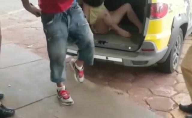 Casal é preso por praticar sexo em público