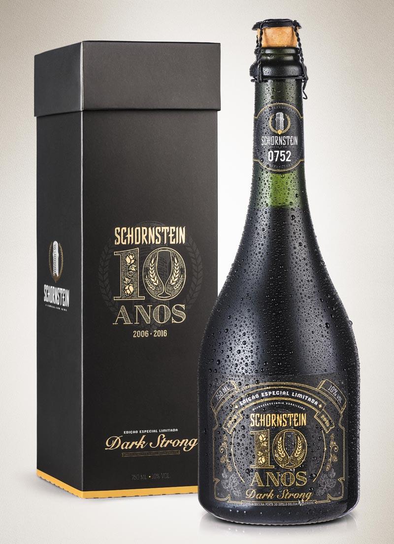 Schornstein lança edição limitada de uma Belgian Dark Strong Ale para comemorar 10 anos