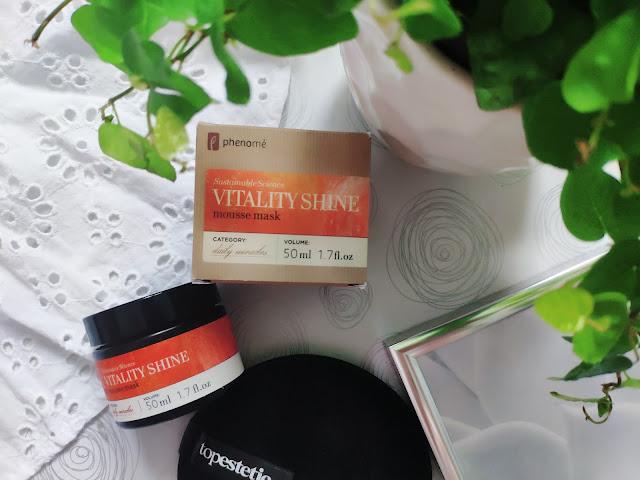 Vitality Shine Mousse Mask - Maseczka redukująca przebarwienia oraz plamy naskórka