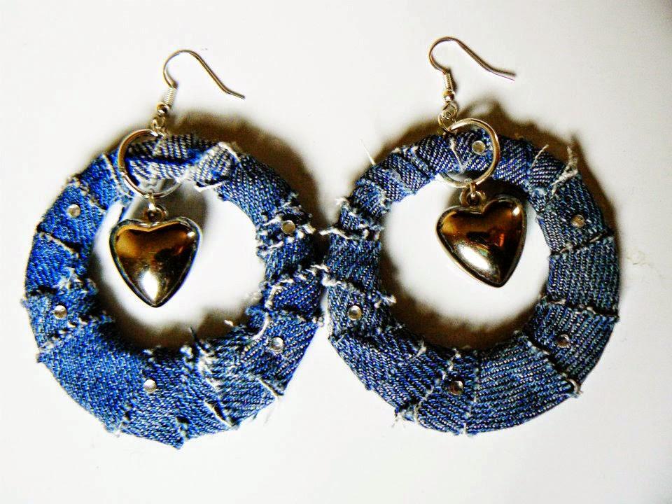 bijuterias feitas com tecido