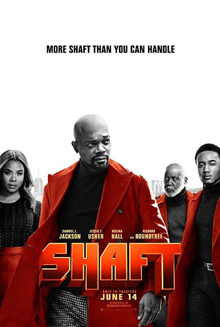 Movie poster for Warner Bros., New Line Cinema, and Netflix's 2019 film Shaft