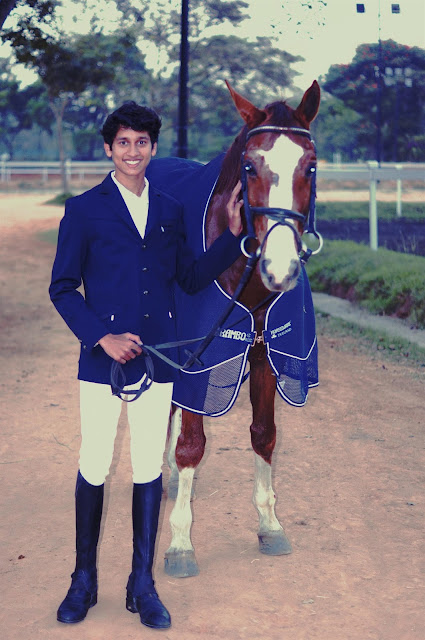 Greenwood High student emerges Junior National Champion at the Junior National Equestrian Championship in New Delhi