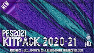 New Kitpack 2020-21 [TEST] PES 2021