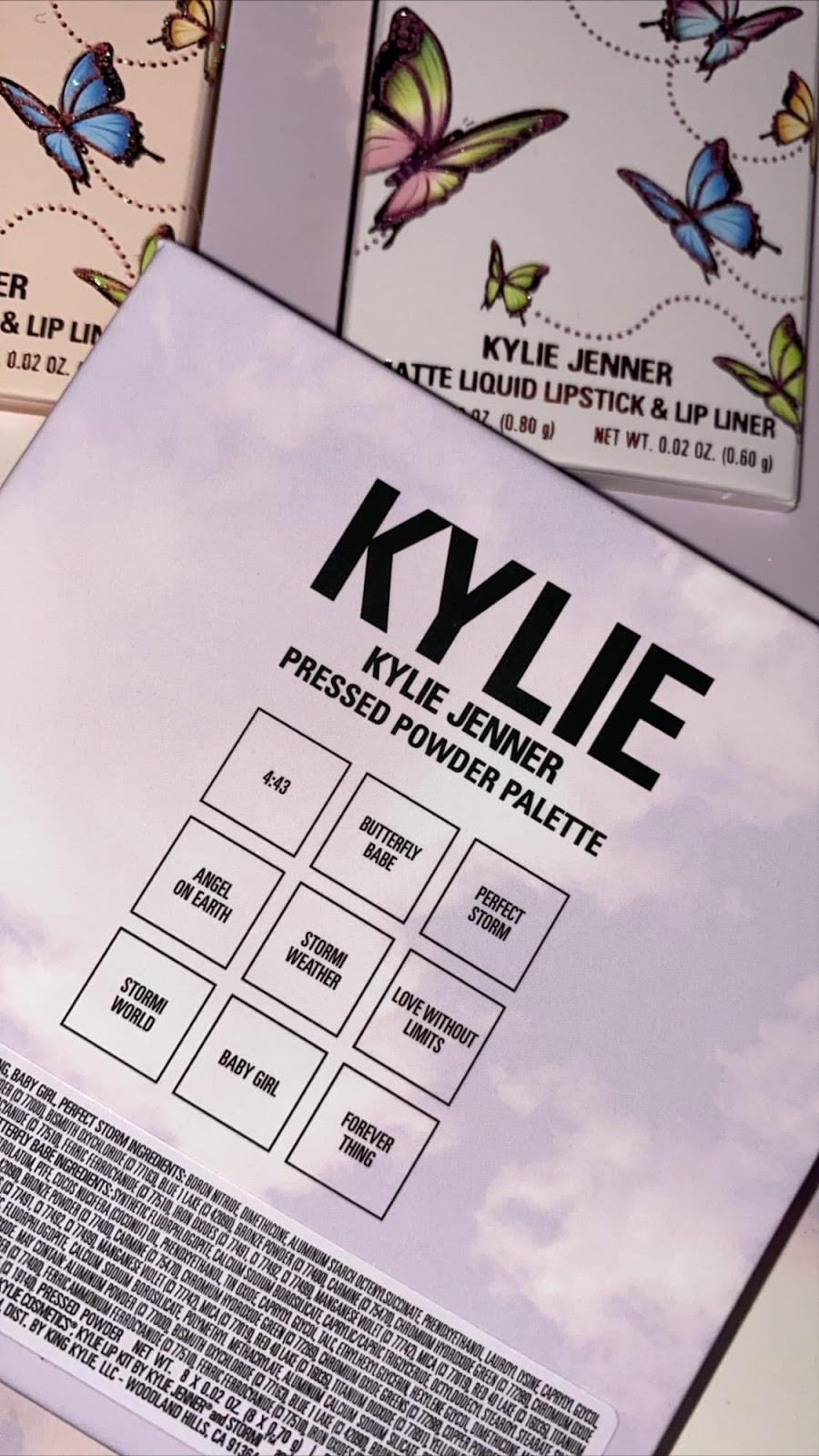 Kylie Jenner x Stormi Makeup Collection 2020