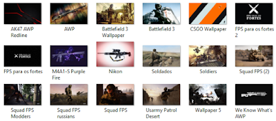 Download Pack de Wallpapers FPS