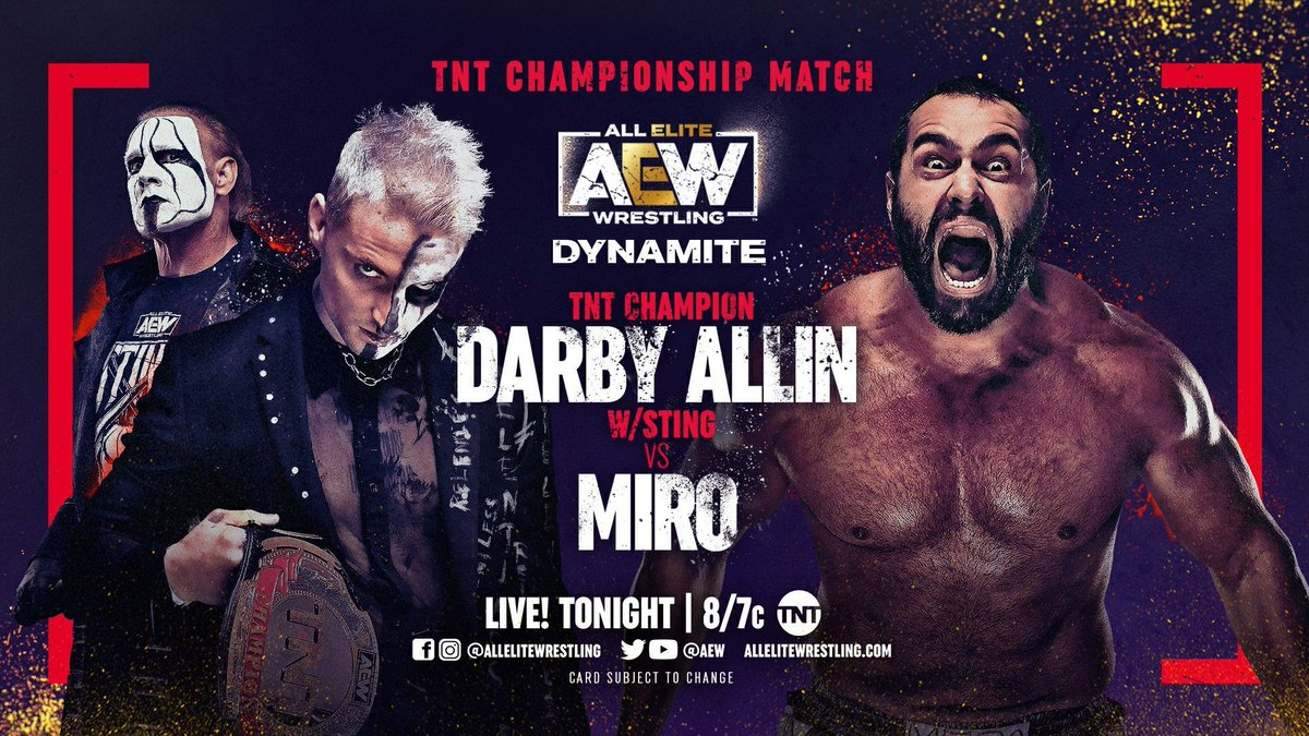 AEW Dynamite Results - May 12, 2021