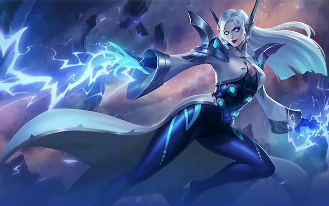 Eudora Lightning Sorceress Heroes Mage of Skins Rework Mobile Legends Wallpaper HD for PC
