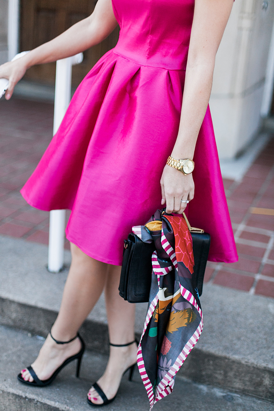 Here&Now: pink party dress