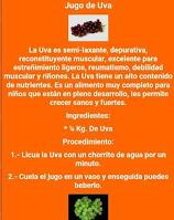 Recetas de licuados de frutas y verduras