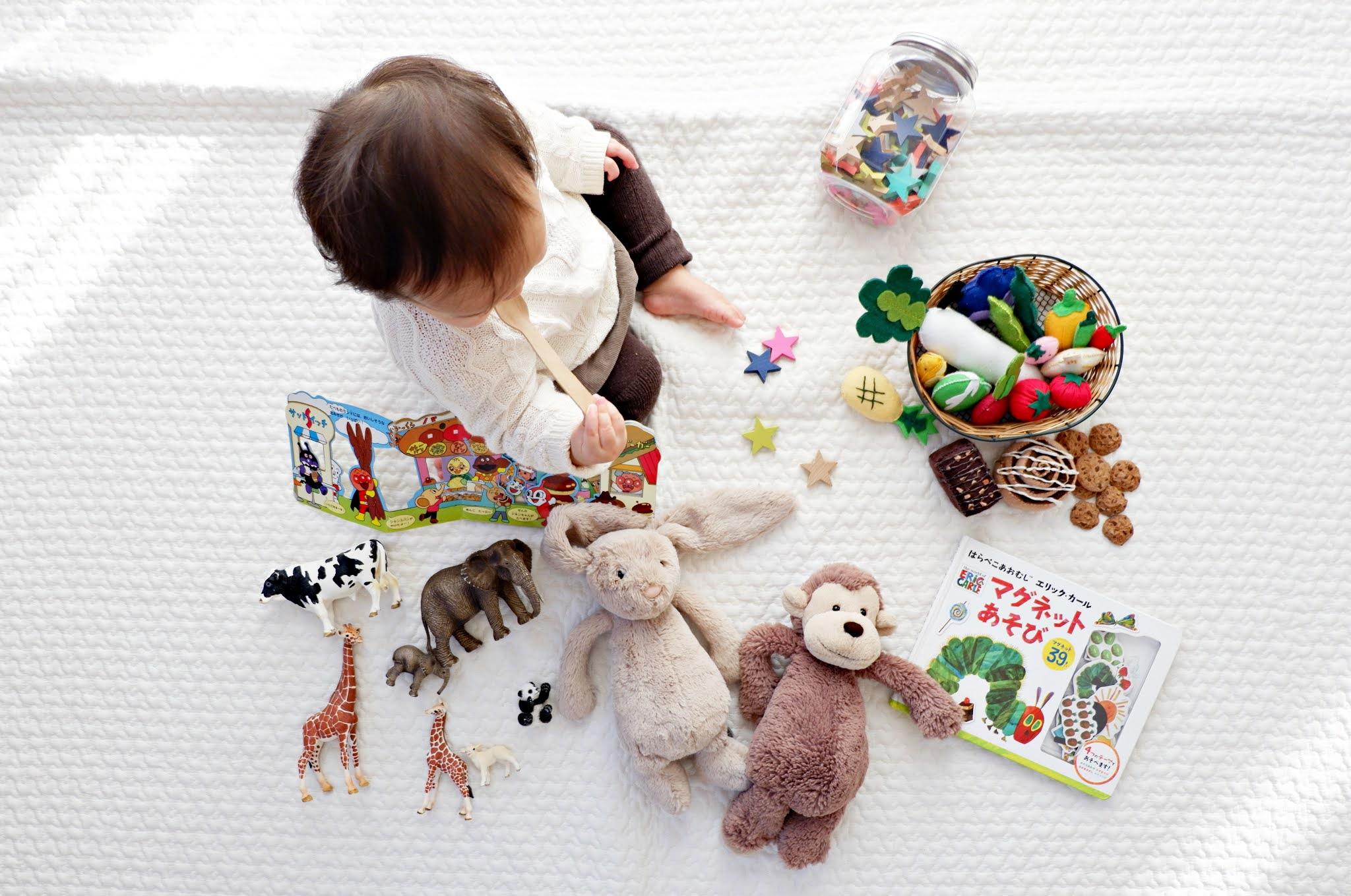 Rekomendasi Permainan anak 1 tahun
