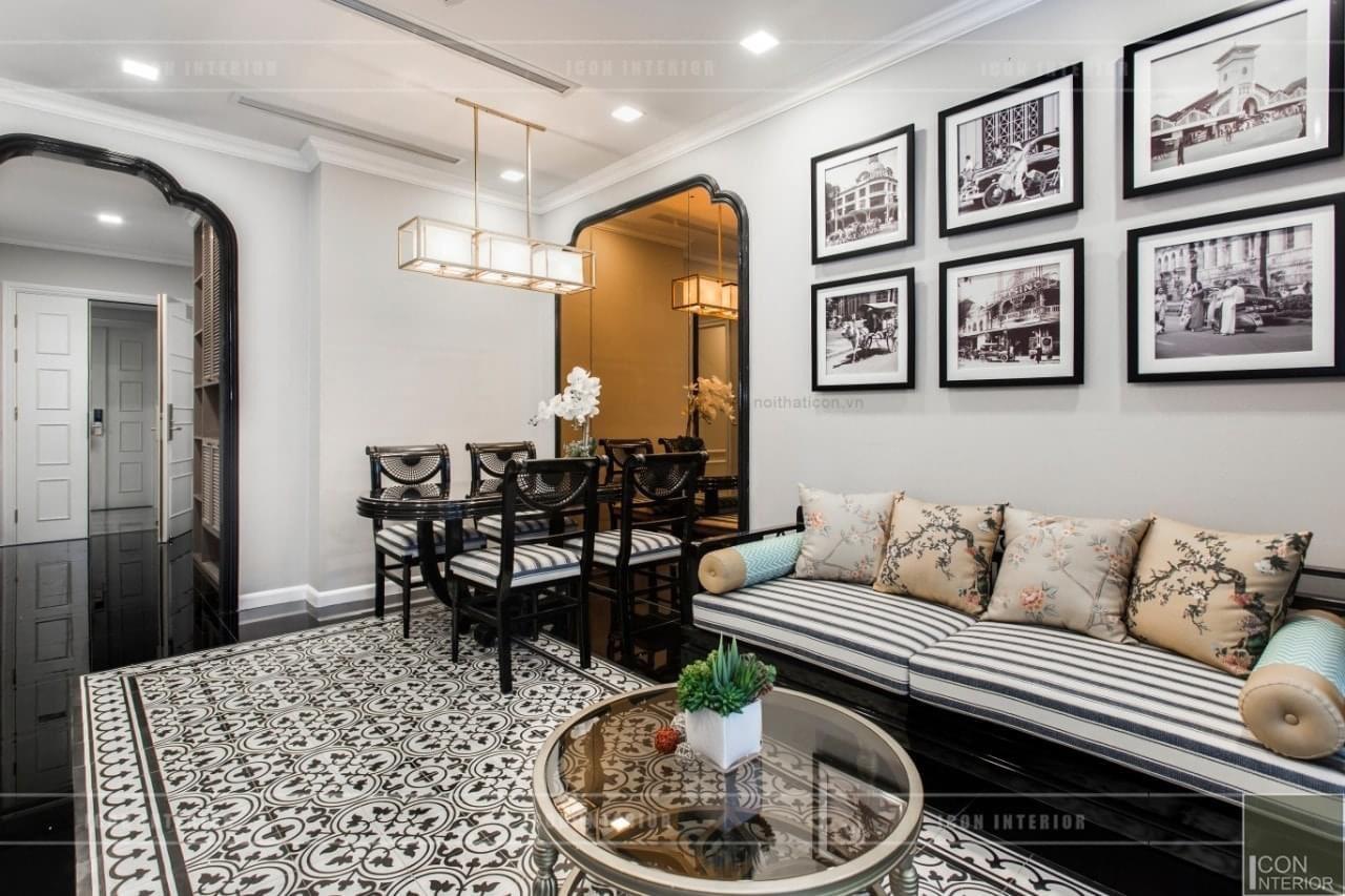 Phòng khách căn hộ Vinhomes Golden River