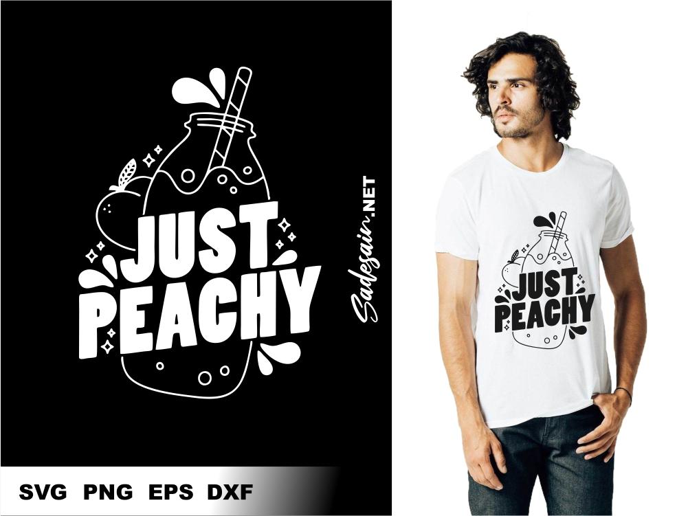 Just Peachy SVG Files