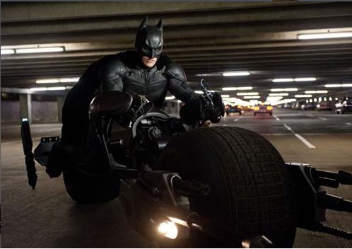 Christian Bale as Batman in The Dark Knight Rises Movie