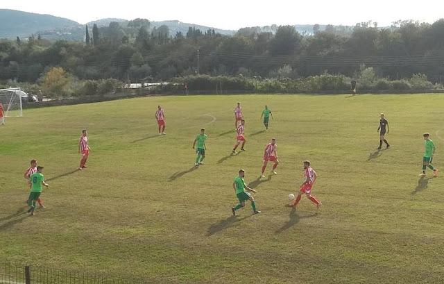 Με γκολ του Γιάννη Γκόλια στο 21΄ ο Απόλλων Πάργας επικράτησε της Ένωσης στο γήπεδο του Μεσοποτάμου.