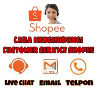 Cara Berbicara dengan CS Shopee