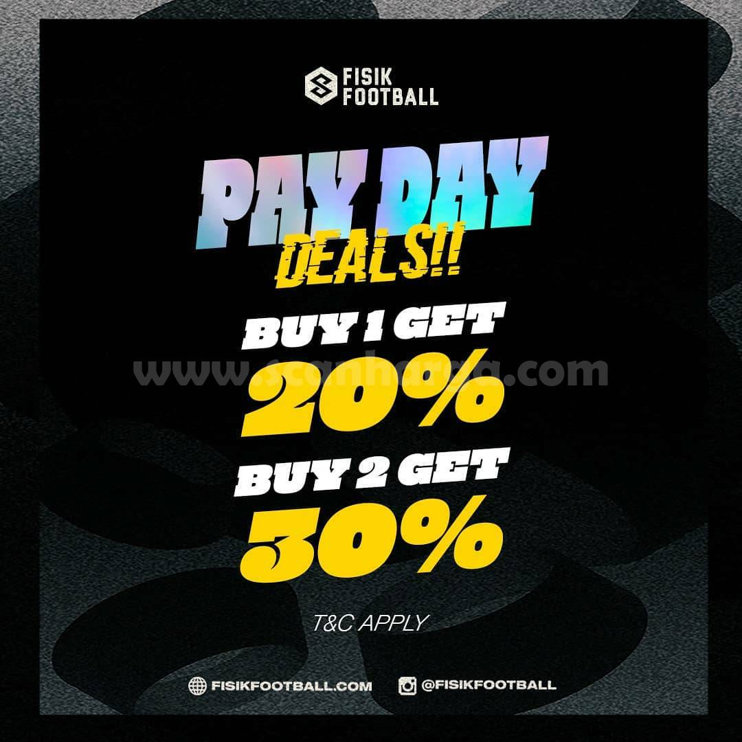 Promo FISIK FOOTBALL PAYDAY DEALS! Diskon hingga 30%