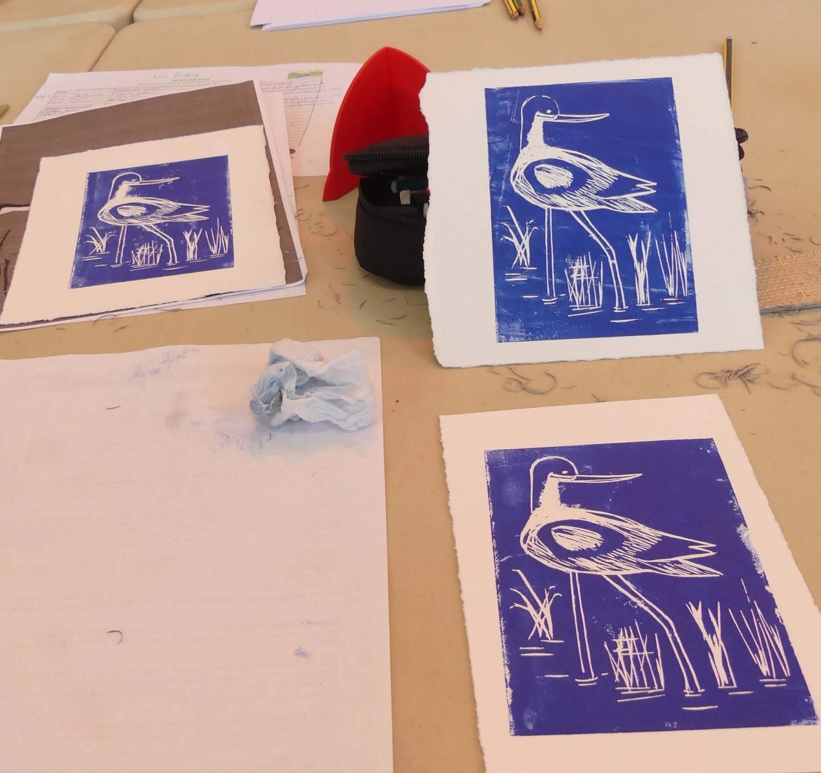 How Should I Say It Workshop For >> Julia Garner Lino Cut Workshops