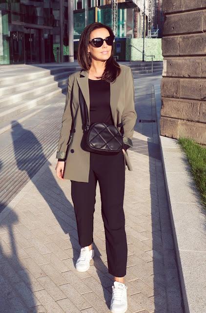 olive jacket woman