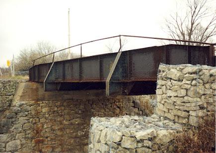 The Black Bridge Railway Overpass Bridge