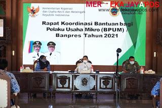 Pendataan Bantuan BPUM- Bupati Pati Haryanto Imbau Camat Sampaikan Informasi Secara Valid