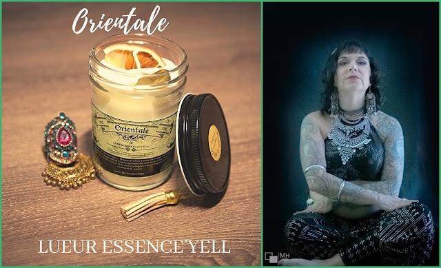 Lueur Essence'Yell bougies cosmétiques savons québécois