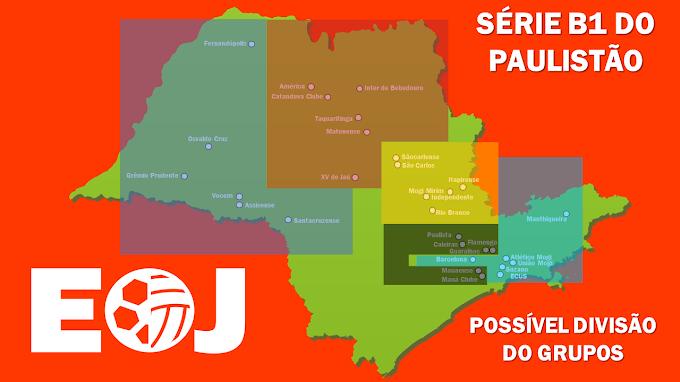 Paulista deve ficar em grupo com times da Grande São Paulo na Série B1