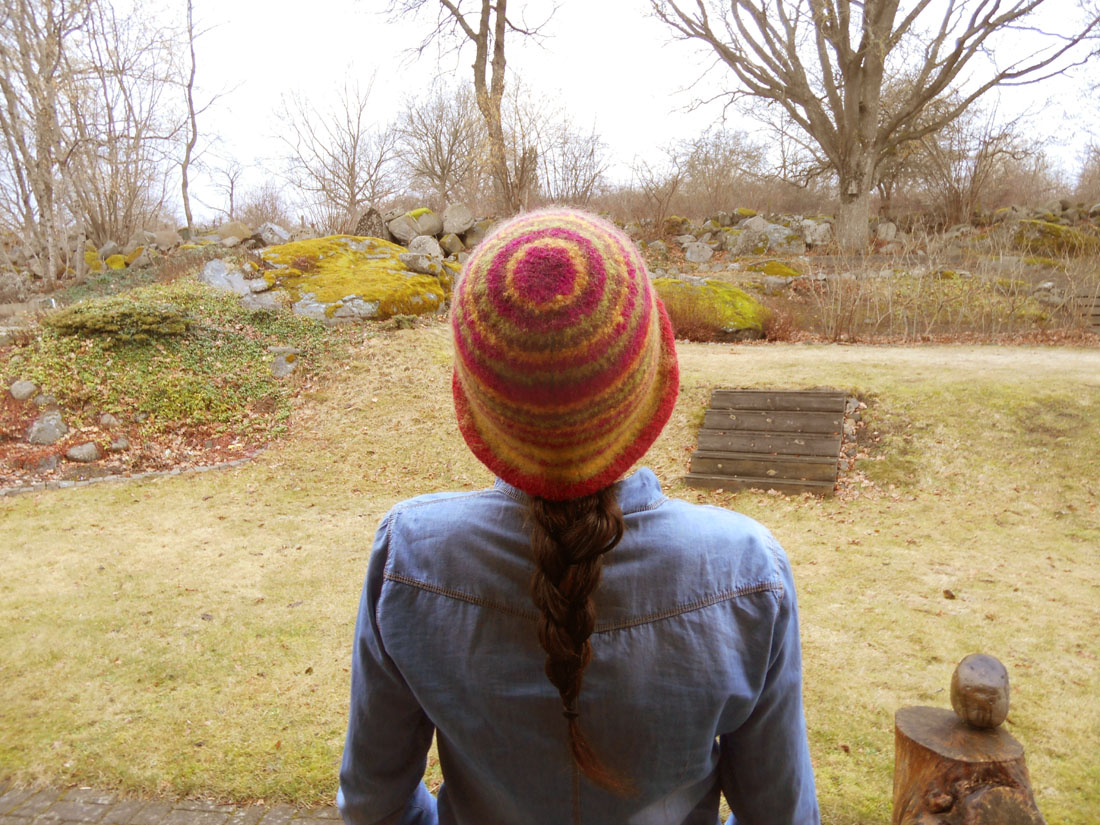Cappello con lana ESKIMO di GARNSTUDIO