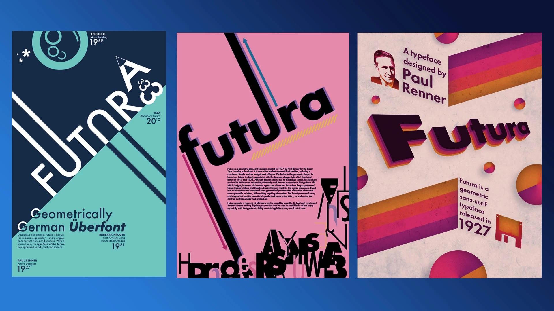 Futura-fonts