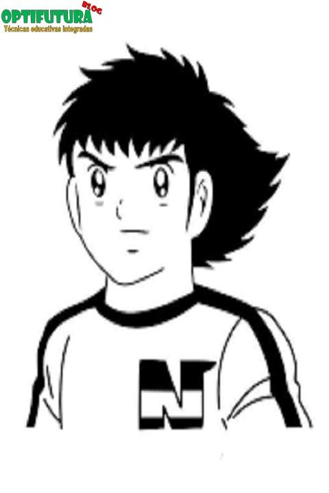 Capitán Tsubasa (Oliver y Benji) [Dibujos para colorear ...