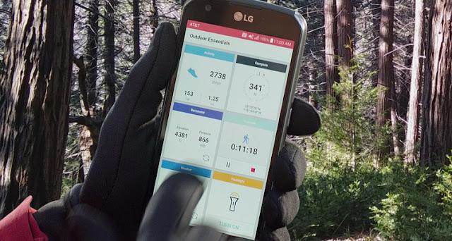Hp Android Berstandar Militer LG Itu Adalah X Venture
