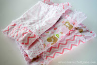 Rag Top Burp Cloths
