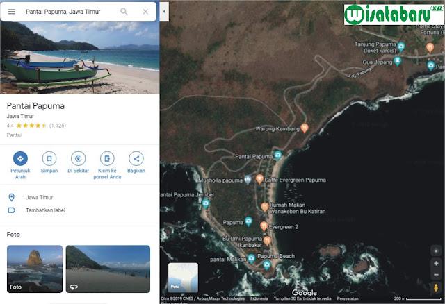Wisata Pantai Papuma Jember, Lokasi Pantai dan Harga Tiket Masuk 2019