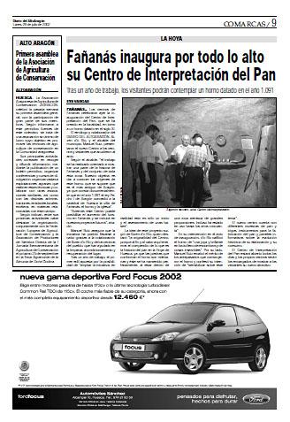 Fañanás inaugura por todo lo alto su Centro de Interpretación del Pan