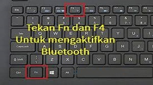 Fn + Gambar Bluetooth