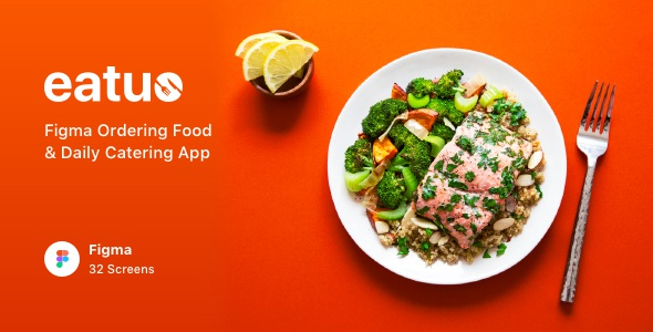 Best Ordering Food & Daily Catering App UI Kit