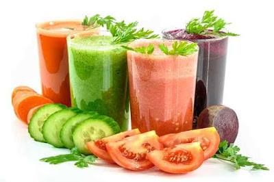Five vegetable juices that promote healthy weight loss