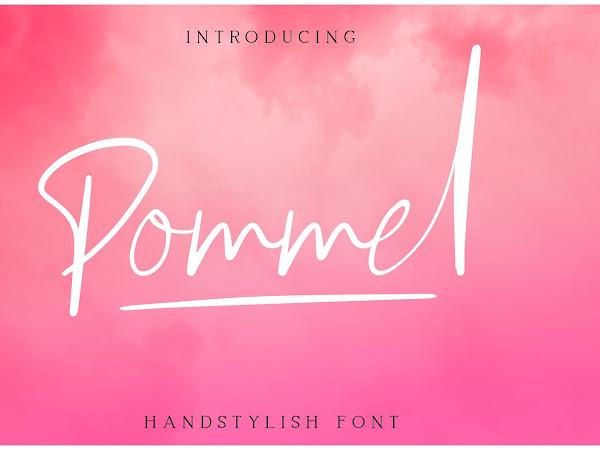 Pommel Script Font Free Download