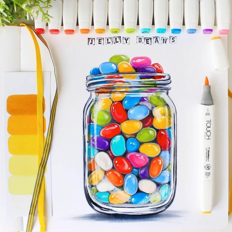 11-Jelly-beans-Eva-Art-www-designstack-co