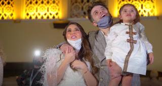 شاهد اكبر حفلة معرفة جنس مولود في العالم ببرج خليفة