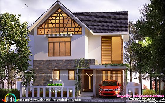 1400 sq ft home in 4 2 cents kerala home design and